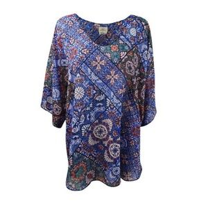 O'Neill Swim - NWT O'Neill Bevie Printed Coverup Tunic S/XS